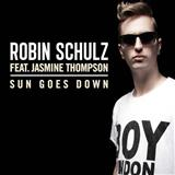 Robin Schulz Sun Goes Down (feat. Jasmine Thompson) Sheet Music and Printable PDF Score | SKU 121223