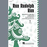 Roger Emerson Run Rudolph Run Sheet Music and Printable PDF Score   SKU 284115
