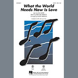 Download Roger Emerson 'What The World Needs Now Is Love - Bass' Digital Sheet Music Notes & Chords and start playing in minutes