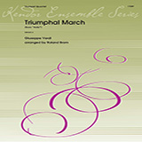 Roland Brom Triumphal March (from Aida) - Full Score Sheet Music and Printable PDF Score   SKU 376368