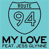 Download or print Route 94 My Love (feat. Jess Glynne) Digital Sheet Music Notes and Chords - Printable PDF Score