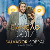 Salvador Sobral Amar Pelos Dois Sheet Music and Printable PDF Score | SKU 124403