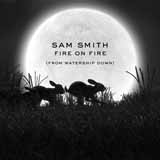 Download or print Sam Smith Fire On Fire (from Watership Down) Digital Sheet Music Notes and Chords - Printable PDF Score