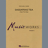 Michael Oare Sassafras Tea (Cajun Two-Step) - Bb Bass Clarinet Sheet Music and Printable PDF Score   SKU 299761