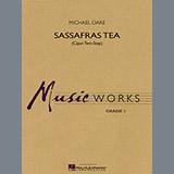 Michael Oare Sassafras Tea (Cajun Two-Step) - Bb Clarinet 1 Sheet Music and Printable PDF Score   SKU 299759