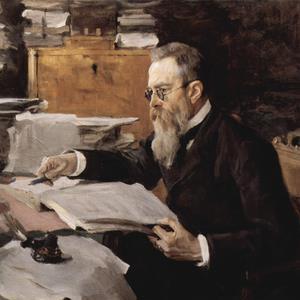 Nikolai Rimsky-Korsakov image and pictorial
