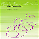 Schinstine Viva Percussion - Percussion 4 Sheet Music and Printable PDF Score | SKU 324001