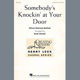 African-American Spiritual Somebody's Knockin' At Your Door (arr. Scott Atwood) Sheet Music and Printable PDF Score   SKU 178114