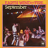 Earth, Wind and Fire September Sheet Music and Printable PDF Score   SKU 101066