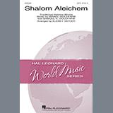 Audrey Snyder Shalom Aleichem Sheet Music and Printable PDF Score | SKU 188630