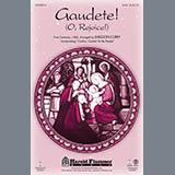 Sheldon Curry Gaudete! (O, Rejoice!) - Tambourine Sheet Music and Printable PDF Score | SKU 321997