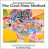 Download or print Shelton Berg Jazz Improvisation: The Goal-Note Method Digital Sheet Music Notes and Chords - Printable PDF Score