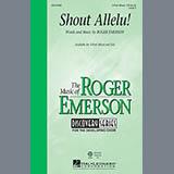 Roger Emerson Shout Allelu! Sheet Music and Printable PDF Score | SKU 151442