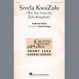 Bernard Krüger Sivela Kwazulu Sheet Music and Printable PDF Score | SKU 195520