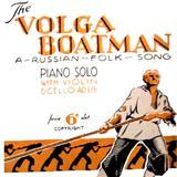 Russian Folksong Song Of The Volga Boatman Sheet Music and Printable PDF Score | SKU 87502