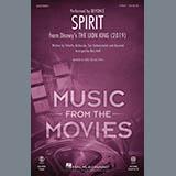 Beyonce Spirit (from The Lion King 2019) (arr. Mac Huff) Sheet Music and Printable PDF Score   SKU 426696