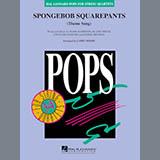 Larry Moore SpongeBob SquarePants (Theme Song) - Cello Sheet Music and Printable PDF Score   SKU 368562