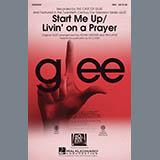 Ed Lojeski Start Me Up/Livin' On A Prayer - Bass Sheet Music and Printable PDF Score | SKU 298607
