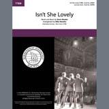 Stevie Wonder Isn't She Lovely (arr. Mike Menefee) Sheet Music and Printable PDF Score   SKU 407075
