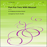 Stouffer Fun For Two With Mozart Sheet Music and Printable PDF Score | SKU 124801