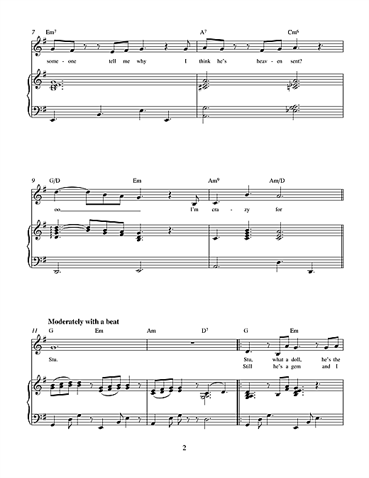 Charles Miller & Kevin Hammonds Stu (from Brenda Bly: Teen Detective) sheet music notes printable PDF score