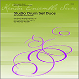 Houllif Studio Drum Set Duos (For A Student And Teacher) Sheet Music and Printable PDF Score   SKU 124762