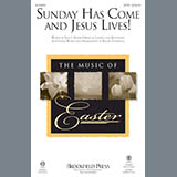 Roger Thornhill Sunday Has Come and Jesus Lives! - Handbells Sheet Music and Printable PDF Score | SKU 345200