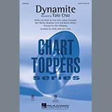 Taio Cruz Dynamite (arr. Alan Billingsley) - Bb Trumpet 1 Sheet Music and Printable PDF Score | SKU 299431