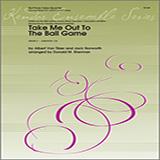 Donald M. Sherman Take Me Out To The Ball Game - 1st Baritone T.C. Sheet Music and Printable PDF Score   SKU 368188