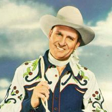 Gene Autry and Jimmy Long image and pictorial