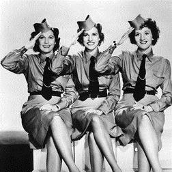 Download or print The Andrews Sisters I'll Be With You In Apple Blossom Time Digital Sheet Music Notes and Chords - Printable PDF Score