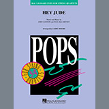 Download or print The Beatles Hey Jude (arr. Larry Moore) - Violin 2 Digital Sheet Music Notes and Chords - Printable PDF Score