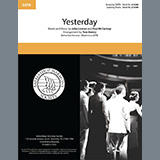 The Beatles Yesterday (arr. Tom Gentry) Sheet Music and Printable PDF Score | SKU 435392