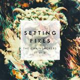 The Chainsmokers Setting Fires Sheet Music and Printable PDF Score | SKU 177282