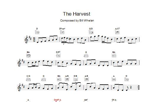 Bill Whelan The Harvest (from Riverdance) sheet music notes printable PDF score