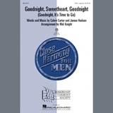The McGuire Sisters Goodnight, Sweetheart, Goodnight (Goodnight, It's Time to Go) (arr. Mel Knight) Sheet Music and Printable PDF Score | SKU 407065