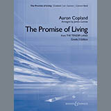 James Curnow The Promise Of Living (from The Tender Land) - Bb Clarinet 3 Sheet Music and Printable PDF Score | SKU 308465
