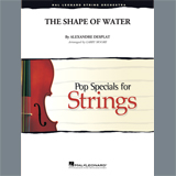 Alexandre Desplat The Shape of Water (arr. Larry Moore) - Violin 1 Sheet Music and Printable PDF Score   SKU 425482