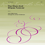 James Christensen The Stars and Stripes Forever - 3rd C Flute Sheet Music and Printable PDF Score | SKU 373450