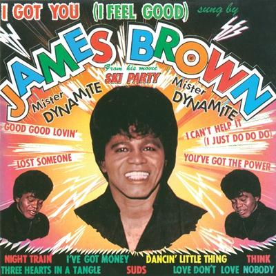James Brown image and pictorial