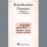Thomas Juneau Benedicamus Domino Sheet Music and Printable PDF Score | SKU 405716