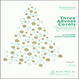 Arthur Frackenpohl Three Advent Carols - Eb Alto Saxophone Sheet Music and Printable PDF Score | SKU 339339