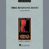 Lloyd Conley Three Renaissance Dances - Violin 3 (Viola Treble Clef) Sheet Music and Printable PDF Score | SKU 287351