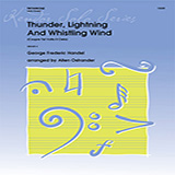 Allen Ostrander Thunder, Lightning And Whistling Wind (Coupre Tal Volta Il Cielo) - Trombone Sheet Music and Printable PDF Score | SKU 369234