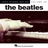 The Beatles Ticket To Ride [Jazz version] (arr. Brent Edstrom) Sheet Music and Printable PDF Score | SKU 150672