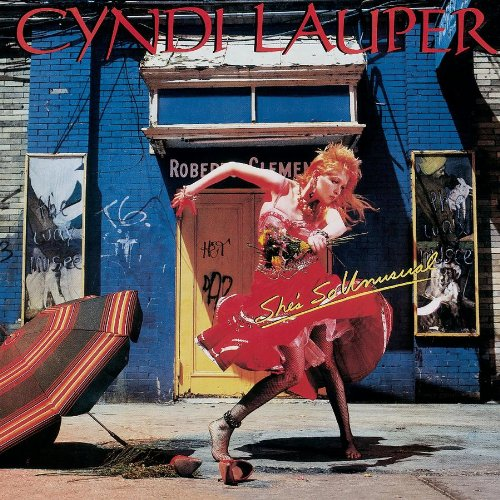 Cyndi Lauper image and pictorial