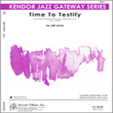 Jarvis Time To Testify - Drums Sheet Music and Printable PDF Score   SKU 323042