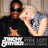 Download or print Tinchy Stryder Bright Lights (feat. Pixie Lott) Digital Sheet Music Notes and Chords - Printable PDF Score