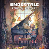 Toby Fox Mysterious Place (from Undertale Piano Collections 2) (arr. David Peacock) Sheet Music and Printable PDF Score | SKU 433808