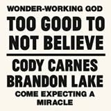 Cody Carnes Too Good To Not Believe (feat. Brandon Lake) Sheet Music and Printable PDF Score | SKU 488185